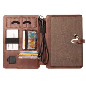 Pennline Wireless Organizer Diary with 4000mAh Powerbank & 16GB USB