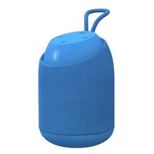 Pebble BassX Aqua IPX7 Waterproof Speaker with Heavy Bass (Blue)