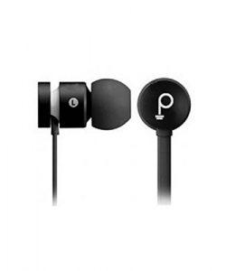 Pebble Chord in-Ear Wired Earphones Black
