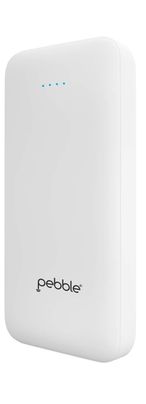 Pebble Fuel 20,000 mAh high-Speed Power Bank White