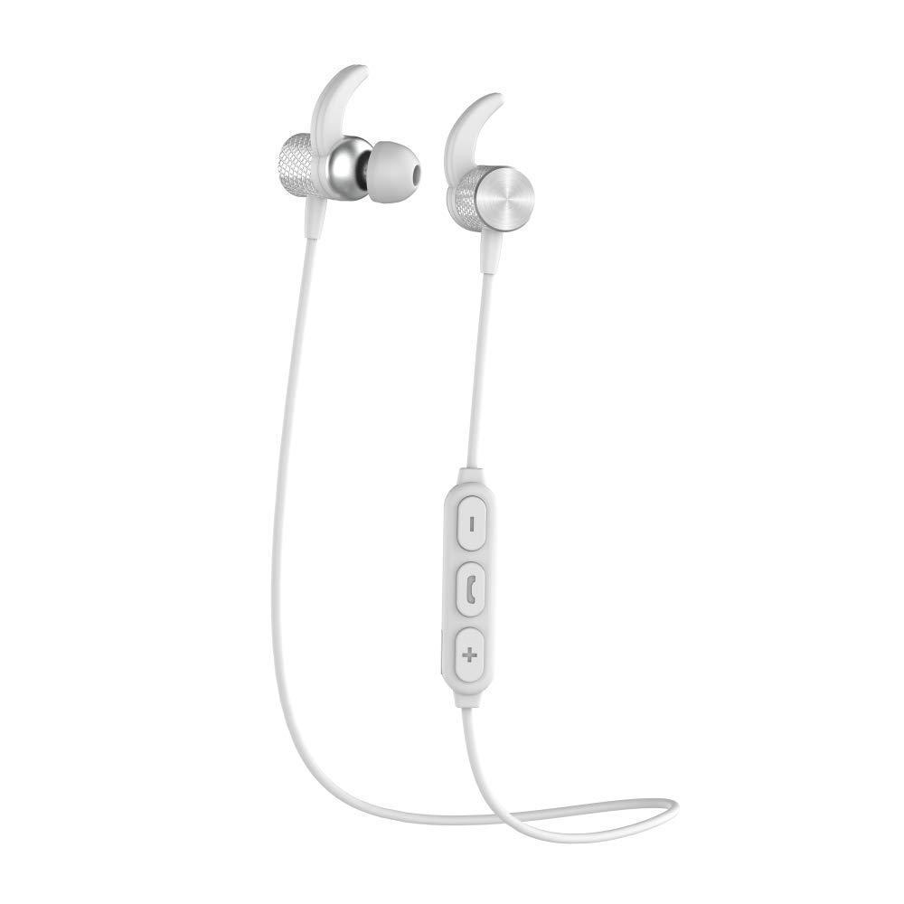 Pebble Spirit GO Wireless in-Ear Earphones with Mic White