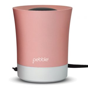 Pebble XS Portable Bluetooth Speaker With Microphone (Rose Gold)