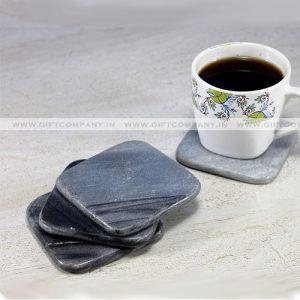 Black Stone Coasters