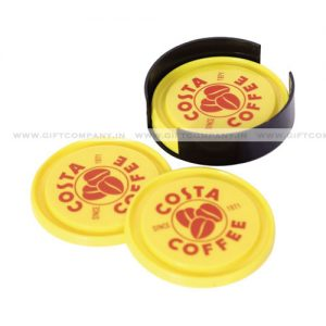 Promotional Plastic Tea Coasters