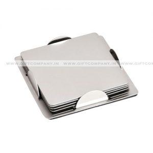 Square Steel Tea Coaster