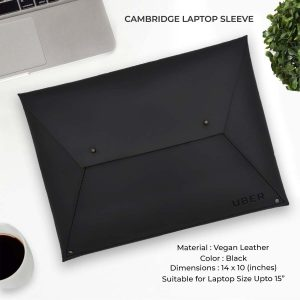 Cambridge Laptop Sleeve - Black