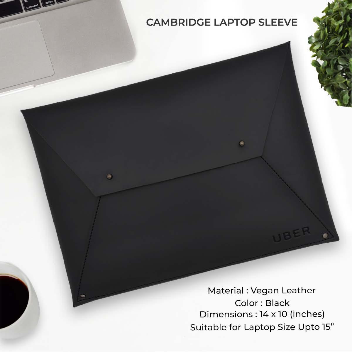 Cambridge Laptop Sleeve - Black