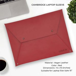 Cambridge Laptop Sleeve - Red