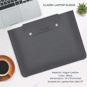 Classic Laptop Sleeve - Black