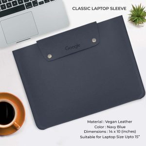 Classic Laptop Sleeve - Navy Blue