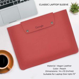 Classic Laptop Sleeve - Peach