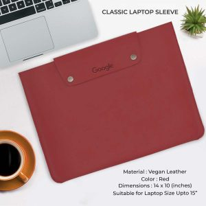 Classic Laptop Sleeve - Red