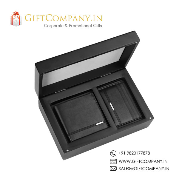 Cross Gift Set - 1, Wallet & Card Holder