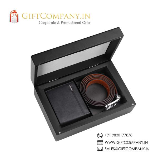Cross Gift Set - 3, Wallet & Belt