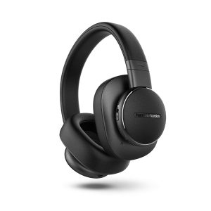 Harman Kardon Fly ANC Wireless Over-Ear Headphone Quick Charging Built-in Voice Assistant - Black