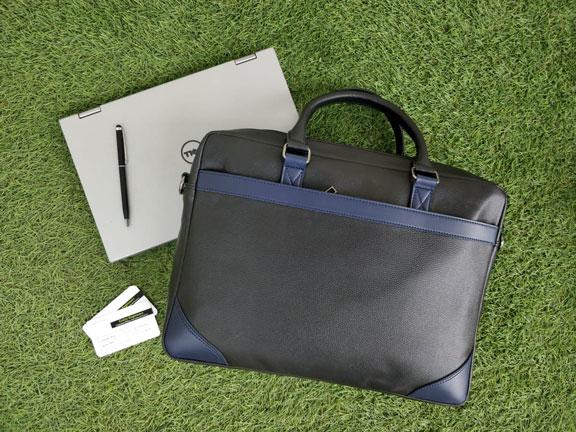 Laptop Bag CE3 - Black & Navy Blue