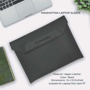 Manhattan Laptop Sleeve - Black