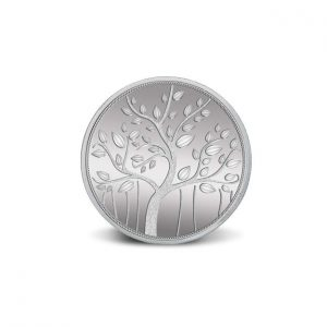 MMTC-PAMP Banyan Tree 999.9 Purity 10 gm Silver Coin