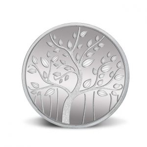 MMTC-PAMP Banyan Tree 999.9 Purity 50 gm Silver Coin