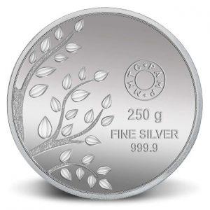 MMTC-PAMP Banyan tree,250 gram Silver (999.9) Coin
