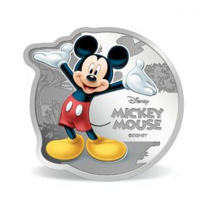 MMTC-PAMP Disney Micky Mouse Colored 31.1 gm Silver (999.9) Coin