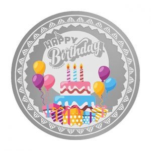 MMTC-PAMP Happy Birthday (999.9) 20 gm Silver Coin
