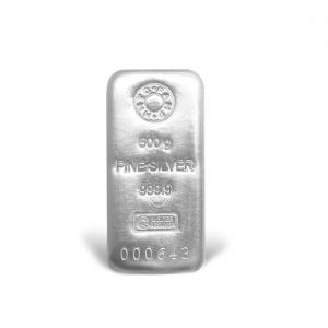 MMTC-PAMP India Pvt. Ltd. MMTC-PAMP (999.9) Purity 500 gram Silver Casted Bar