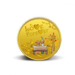 MMTC-PAMP Love Forever 24k (999.9) 5 gm Gold Coin