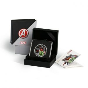 MMTC-PAMP Marvel Avengers Power Colored 31.1 gm Silver (999.9) Coin Box