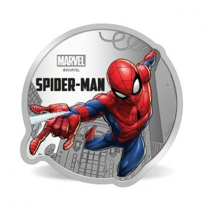 MMTC-PAMP Marvel Spider Man Colored 31.1 gm Silver (999.9) Coin
