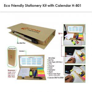 Eco Friendly Stationery Kit Postit Notepad H-801