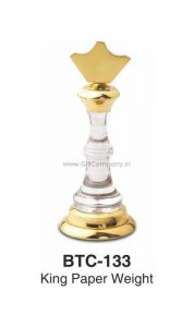 King Chess Paper Weight - BTC-133