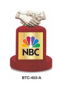 Hand Shake Trophy Memento Gift - BTC-403A
