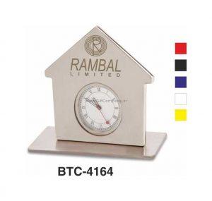 Home Shape Desk Clock - BTC-4164