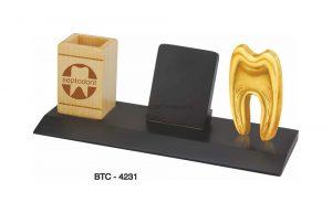 Dentist Tooth Symbol Pen & Mobile Holder BTC-4231