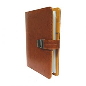 H-1074 Office Planner Diary Brown