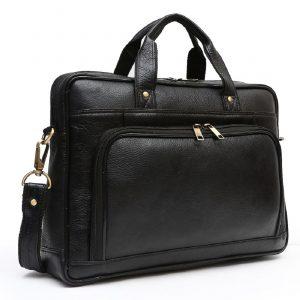 Nizami Leather Laptop & Office Bag - LBSI-2