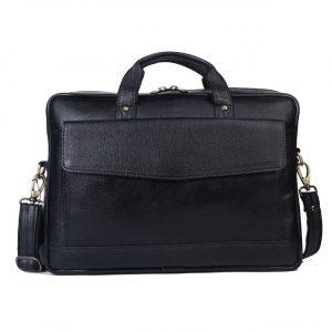 Nizami Leather Laptop & Office Bag - LBSI-5