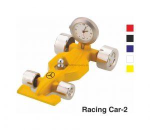 Racing Car with Clock Desktop Gift - 2